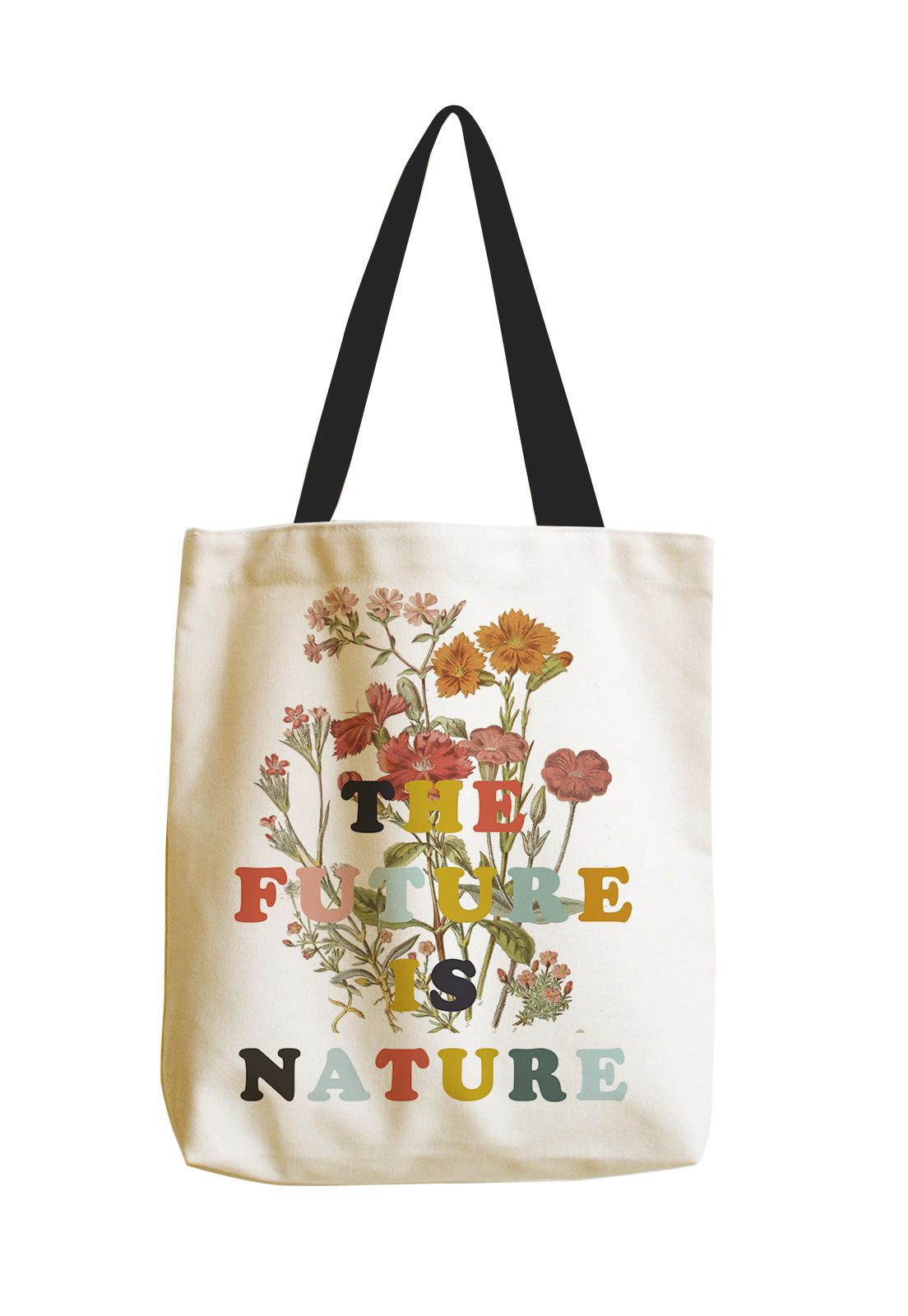 Tote BagThe Future Is Nature