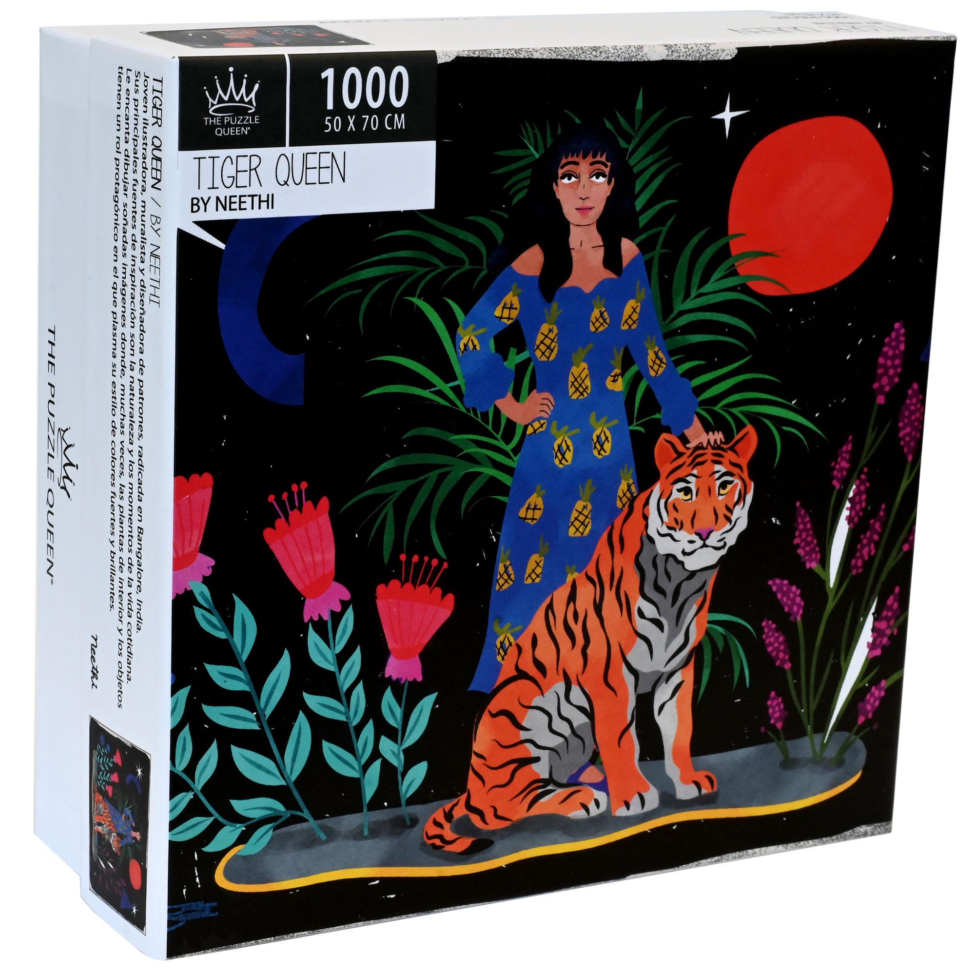 Puzzle Tiger Queen