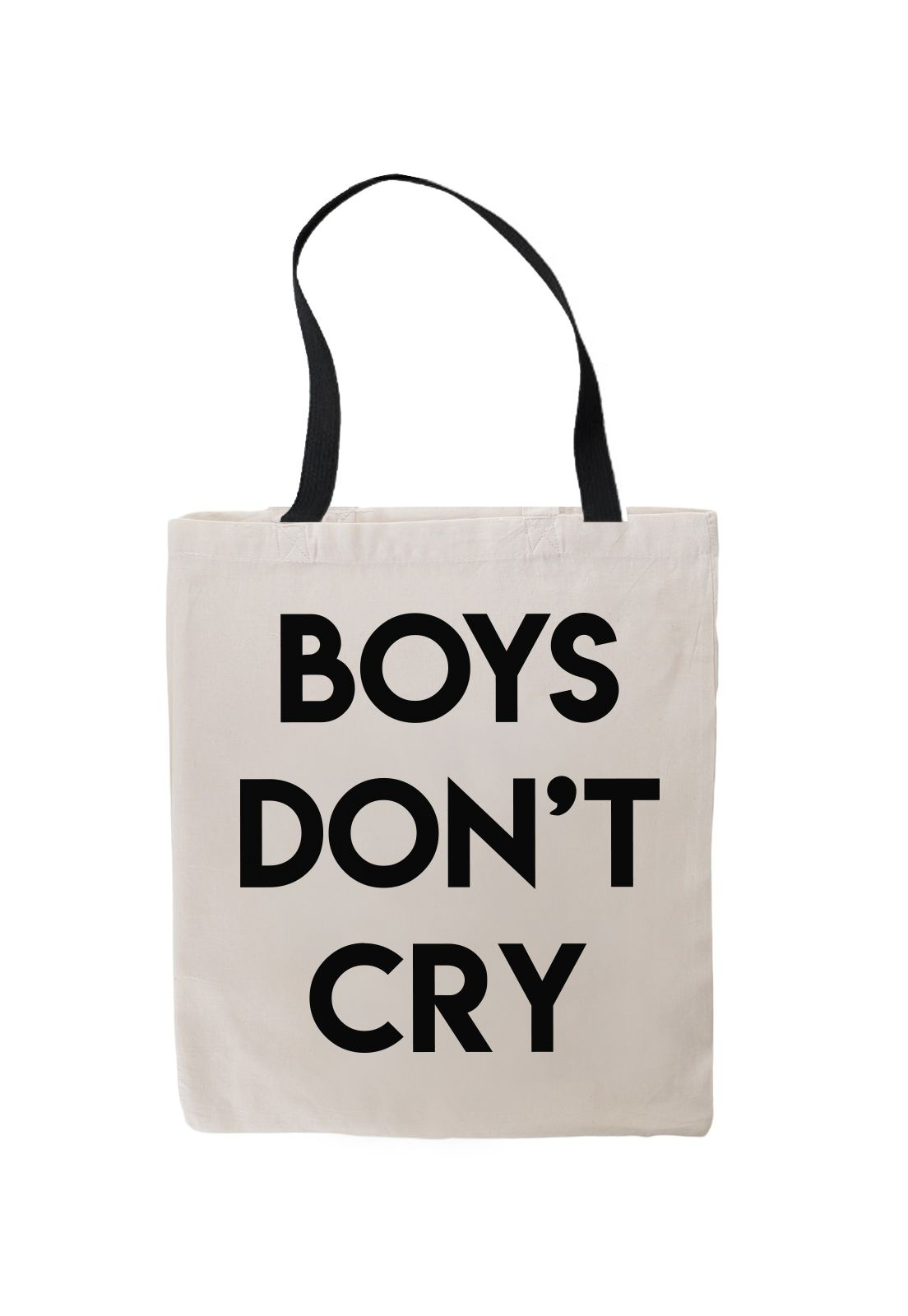 Totebag Boys Dont Cry