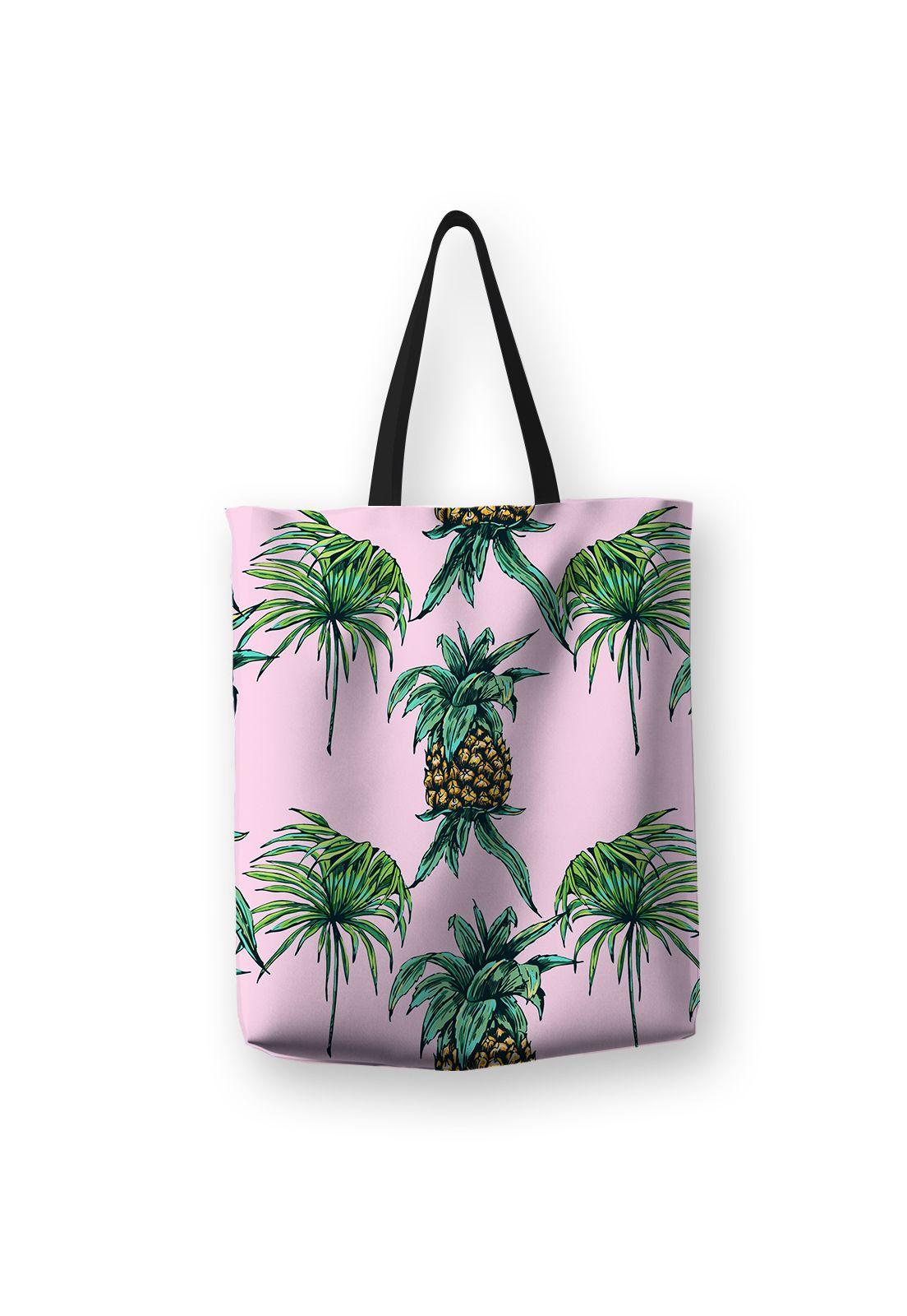 Tote Bag Piña Rosa