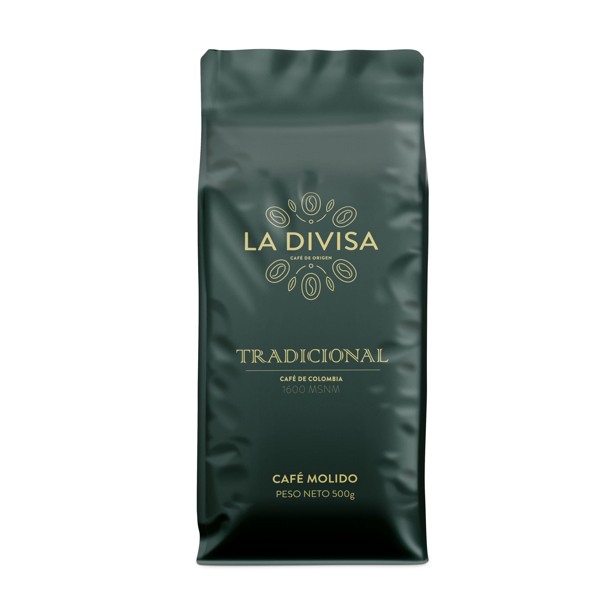 Café Tradicional MOLIDO 500g - La Divisa