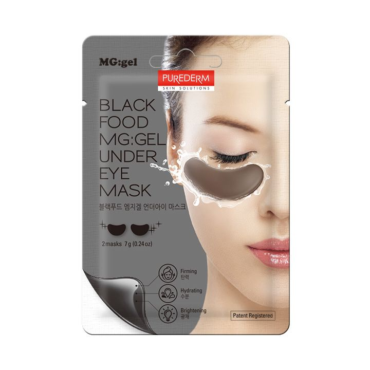 Black Food Barrier MG gel Mask