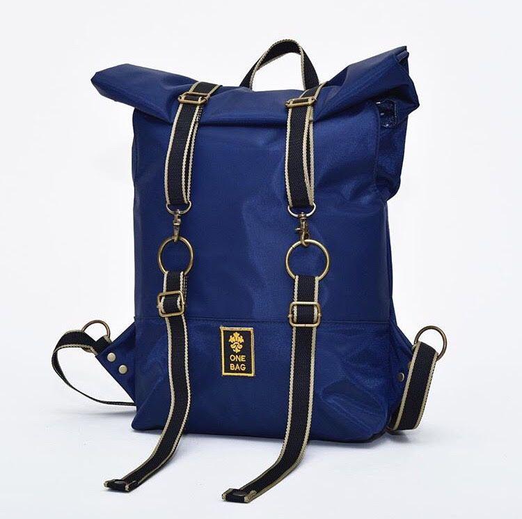 ROLL-BAG VEGAN AZUL - One Bag