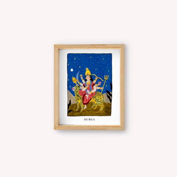 Wall Art Mediano 20x25 Bruja Moderna Durga