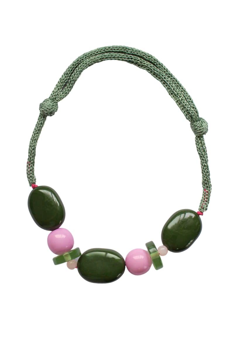 Collar Greta Verde - Galga