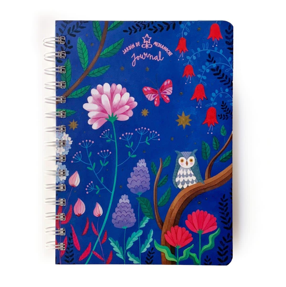 Journal Jardin de medianoche Buho