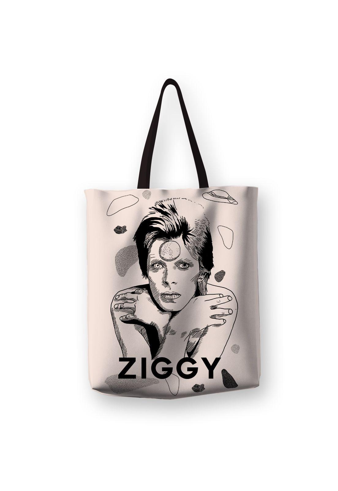 Tote Bag Ziggy Black