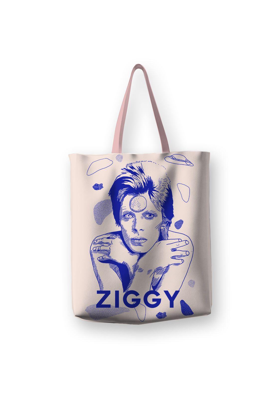Tote Bag Ziggy Blue