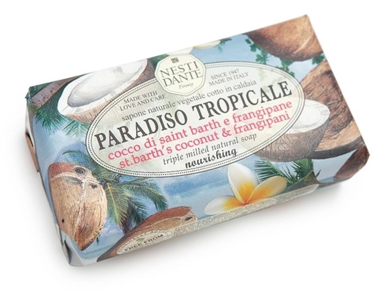 Jabon Barra Coco & Fragipagi / Paradiso Tropical 250g