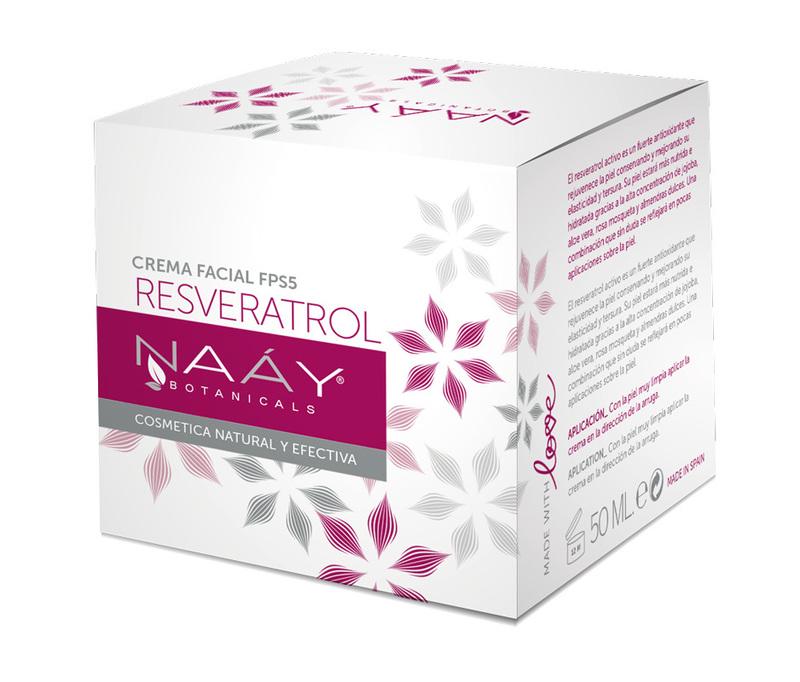 Crema Facial Resveratrol Anti Edad 50 ml