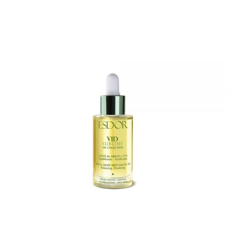 Aceite Facial Arroz  y Uva Vid Sublime 30 ml