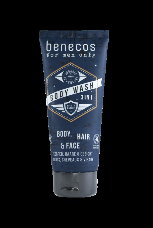 Shampoo y Gel de Ducha Hombre 3in1, 200ml