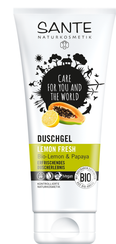Gel de Ducha Limón Fresco 200 ml
