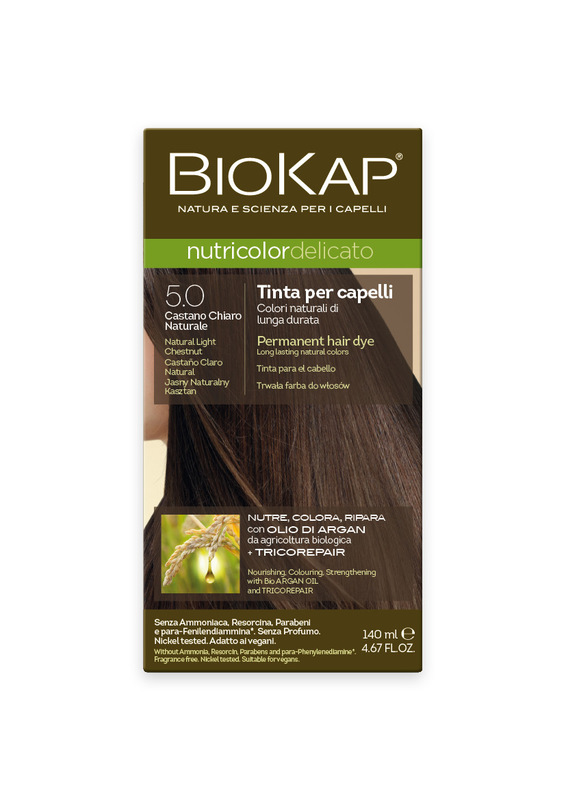 Tntura BIOKAP 5.0 Castaño Claro Natural- 140 ml