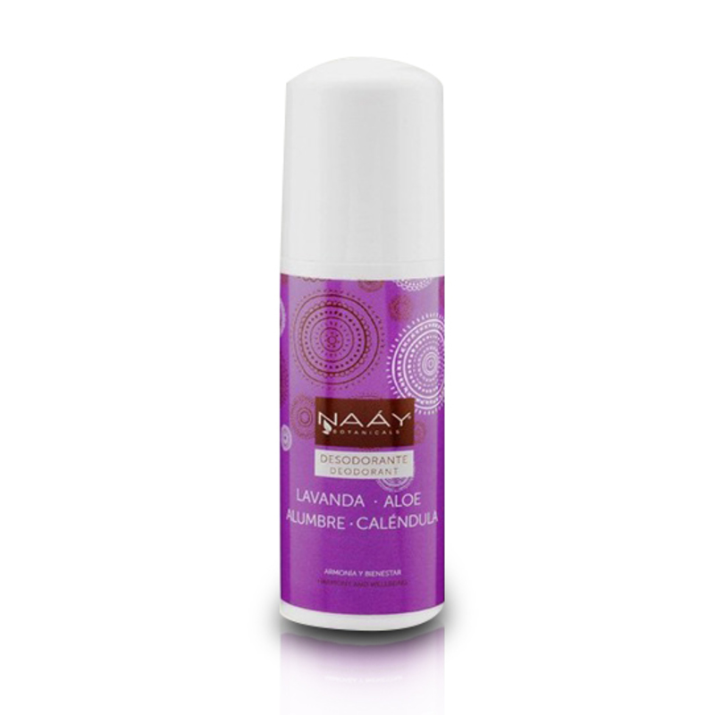 Desodorante de Alumbre Lavanda