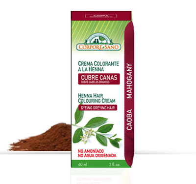 Colorante Caoba 60 ML