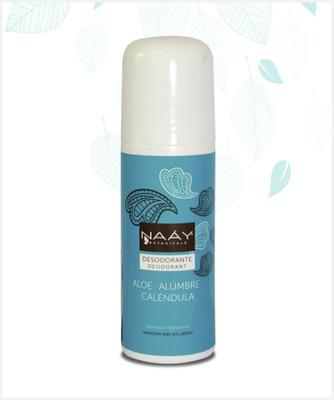 Desodorante Roll On Piedra Alumbre Aloe 75 ml