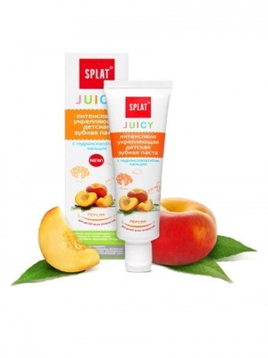 Pasta Dental Bebe JUICY «Peach» 35ml