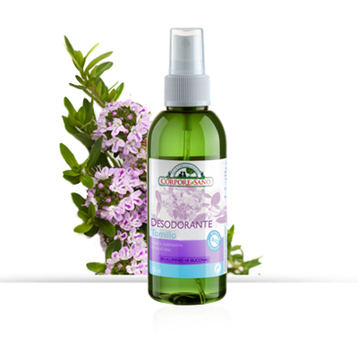 Deodorante Spray Tomillo 80 ML