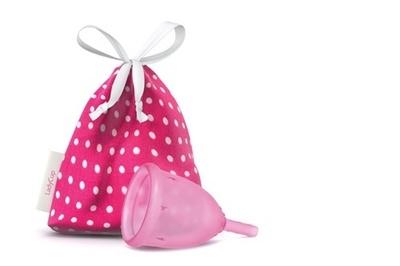 Copa menstrual Rosada S
