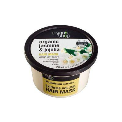Mascara Capilar Jazmin Brillo 250 ml Organic Shop