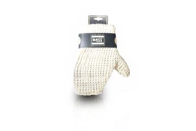 Sisal Deluxe Hand Glove:  Knitted Style-Firm, Firm