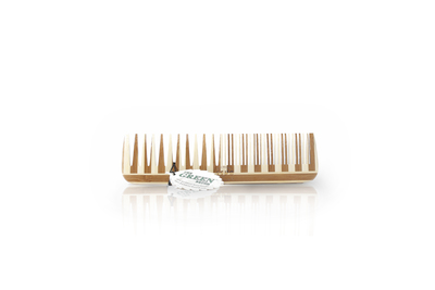 Large wood comb, Wide Tooth/Fine Tooth Combination