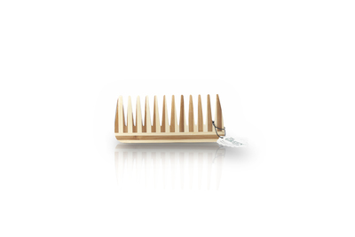 Medium Wood Comb, Wide Tooth