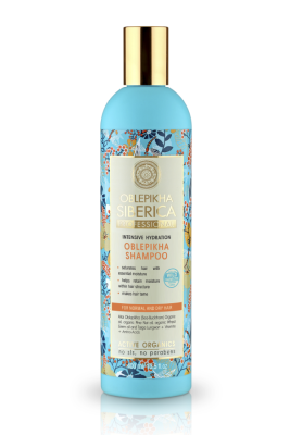 shampoo cabello Normal y seco Espino Amarillo, 400 ml