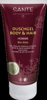 Shampoo Y Gel de Ducha Hombre 200 ml