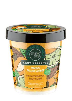 Exfoliante Mango Sugar Sorbet instant Renewal Body Scrub, 450ml