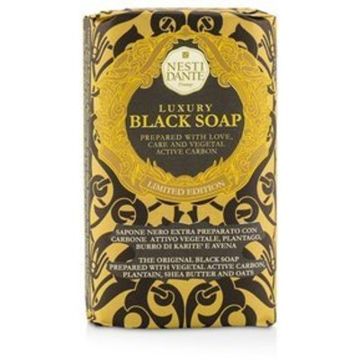 Luxury Black Soap Vegetal / 250 gr