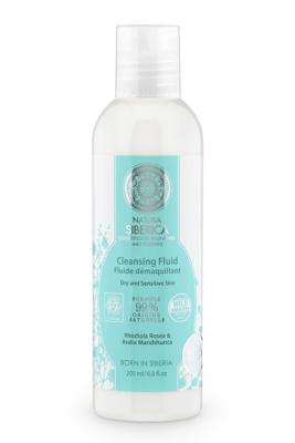 Fluido Limpiador facial, piel seca o sencible , 200 ml