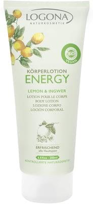 Loción Corporal ENERGY Limón Gengibre 200 ml