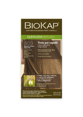 Tintura BIOKAP 8.03 Rubio Claro Natural - 140 ml