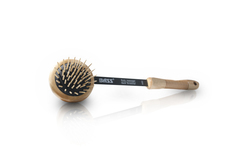Massager/Back Scratcher: Swivel Action, Rubber/ Wood Pin Head,  Wd. Handle