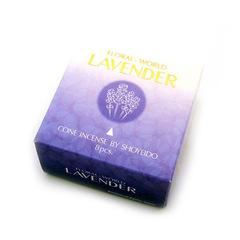 SHOYEIDO LAVENDER 8 CONES W/HOLDER