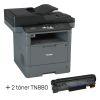 Pack Multifuncional Brother DCP-L5650DN + 2 toner TN880