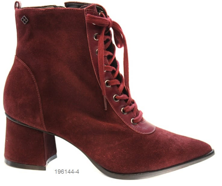 196144 0006 DEM BOOT CORD PARIS OVEJ RUBY BERRY