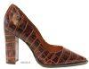 Zapato Stile Channel Croco Whisky 196300 0014 1