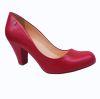Zapato Mujer Stiletto Confort Rojo 016001 00011