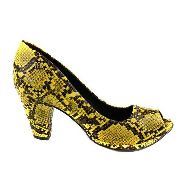 Stiletto confort piton amarillo 014001 000