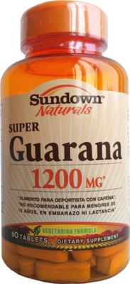 Guarana 1200 Mg 60 Capsulas