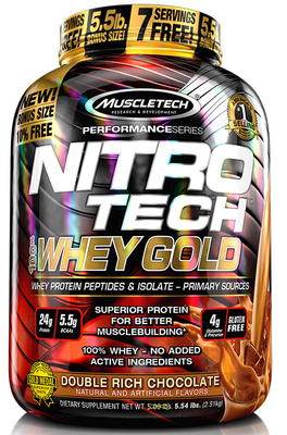 Nitro Tech 100% Whey Gold 5,5 Lbs