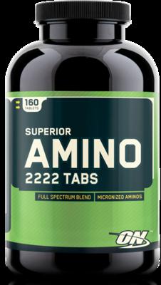 Amino 2222 - 160 Caps