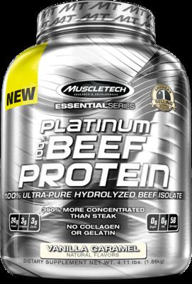 Platinum 100% Beef Protein 4 Lbs