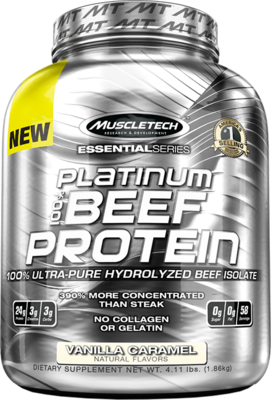 Platinum 100% Beef Protein 4 Lbs