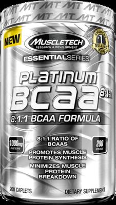 Platinum Bcaa 8:1:1 200 Capsulas