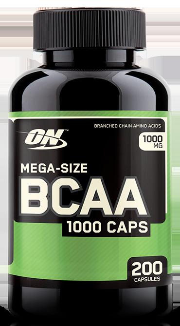 Mega Size Bcaa 1000 200 Capsulas
