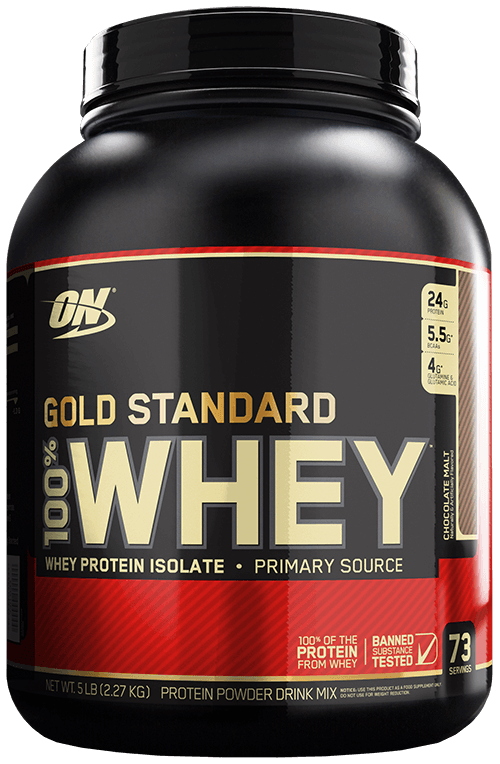 GOLD STANDARD CHOCOLATE 100% WHEY 5 LBS + Shaker Ul